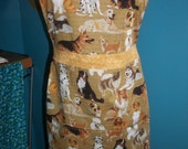 Ginny Apron - Dog Lovers Dog Breeds  - Ready to ship