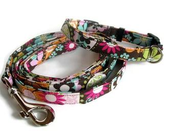 Modern Hippie Dog Leash Set size Small