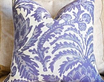 NEW- Ready to Ship- Designer Pillow Cover-20x20 -Vaspertine-Violet Sky-Purple Pillow-Pineapple PIllow