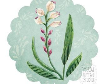 Wildflower 8.5 x 11 Print Painting