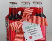 "Teacher Appreciation Week End of the School Year Teacher Gift-- I'm so delighted ""soda lighted"" that you were my teacher this year printable"