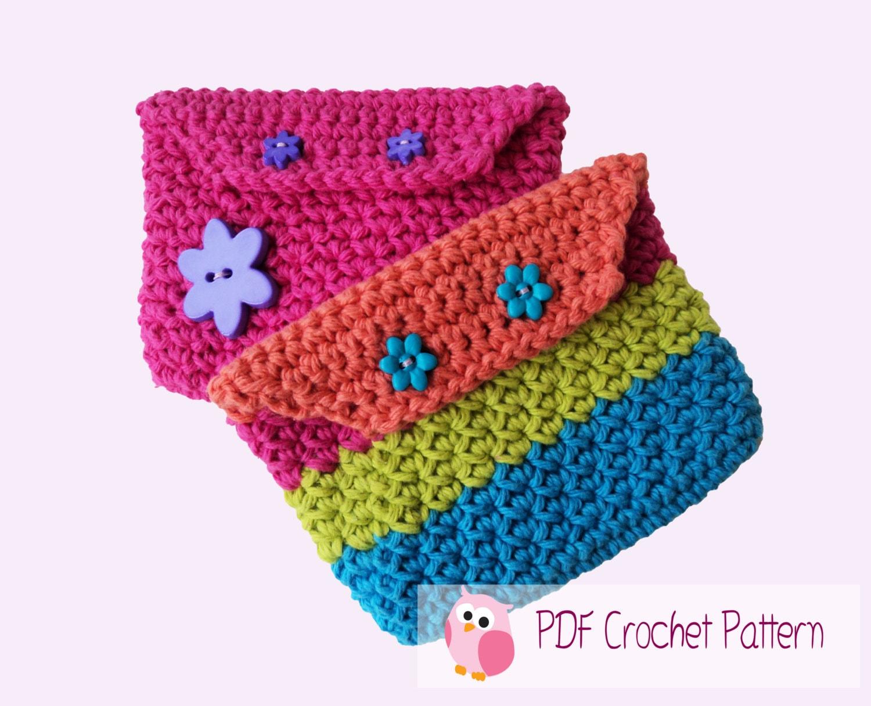Coin Purse Crochet Pattern : Crochet Pattern: Coin Purse Digital Download by CuteLittleCrafts