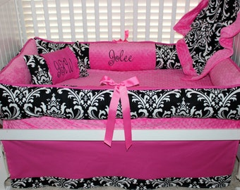 Jolee Custom Baby Bedding Crib Set 6 pc set