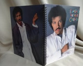 Hello. Is this the Lionel Richie album cover notebook you're looking for?