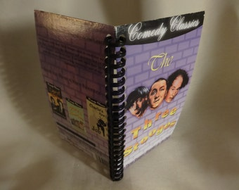 Three Stooges Disorder in the Court VHS notebook