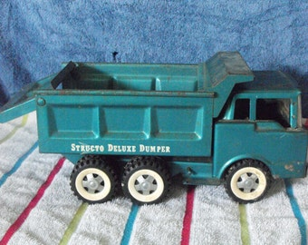 Vintage 60s Structo Deluxe Dumper truck