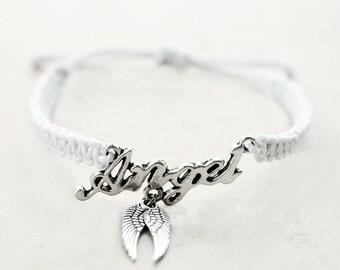 Angel Bracelet - Hemp Bracelet - Hemp Jewelry