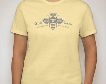 Ladies Bee Tee, Save the Bees, Bee keeping