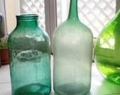 RESERVED for Mary Anne -  2 Antique 30 Liter Vintage Demijohn - Damigiana - Carboy - Demi John - Wine Jar - Wine Jug #11
