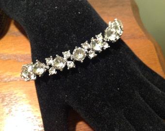 Perfect Vintage Wedding Jewelry Lovely Rhinestone Bracelet