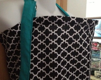 Breastfeeding nursing cover up apron like  HOOTER infers  HONEYCOMB with contrast strap