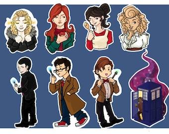 Doctor Who Sticker set