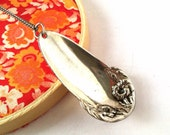 Antique Spoon Necklace, Necklace for Chefs, Culinary Students, History Lovers