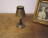 Lamp Ashtray. Brass. Works great. Father's Day