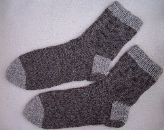 Simple Sock Knitting Patterns Beginner : Basic Sock Knit Pattern