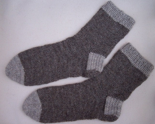 Basic Knit Sock Pattern : Basic Sock Knit Pattern