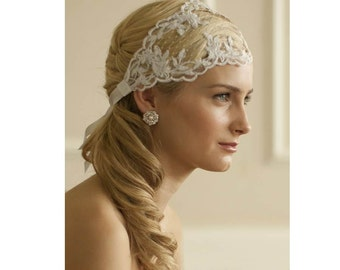 Vintage wedding headband