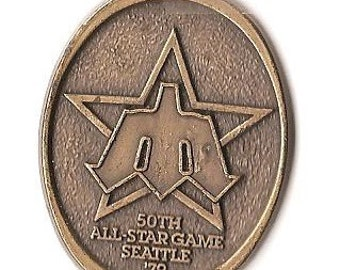 50th All star Seattle 79' medal