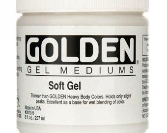 Golden SOFT GEL 8 oz tub - Gloss