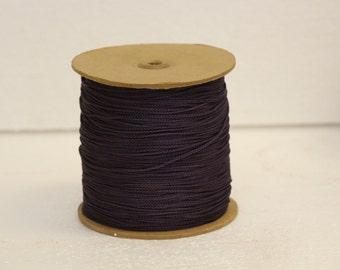 Purple Acetate Chainette Yarn