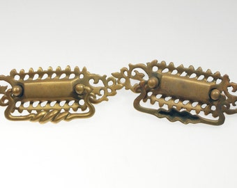 Swirl bronze bail pull set