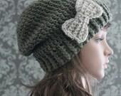 Crochet PATTERN - Womens Slouchy Hat Pattern - Crochet Hat Pattern - Ladies Crochet Patterns - Toddler Child Adult Sizes - Pattern 381