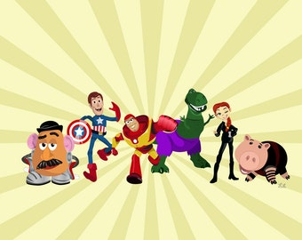 Toy Story Heroes
