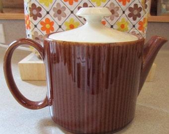 Vintage Brown Glaze Teapot