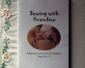 Sewing with Grandma instructional CD