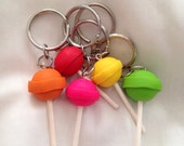 Summer Lollipop Keychain PICK ONE