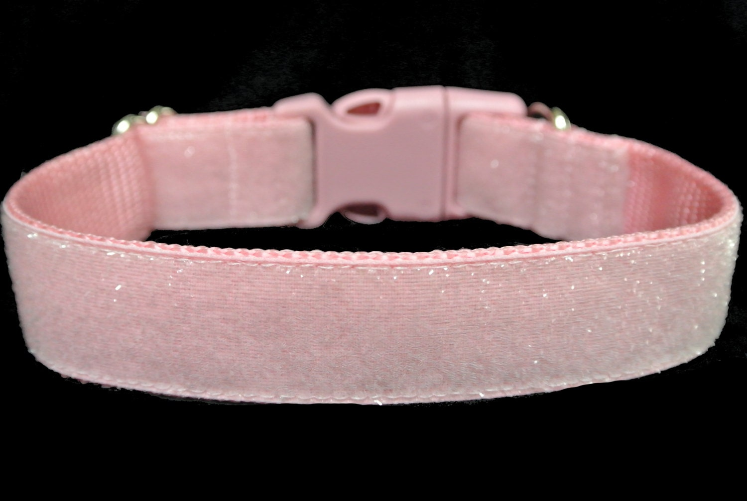 Light Pink Dog Collar 1 Glitter Dog Collar - photo#49
