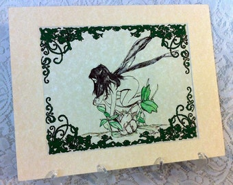 Pen and Ink Fairy