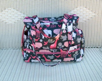 Sophie CUSTOM Diaper Bag and Changing Pad