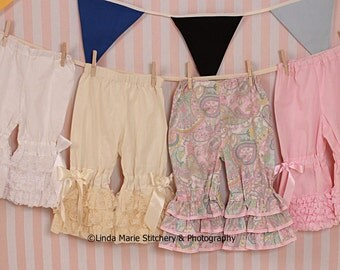 Ruffle Bloomers 4 to choose from.