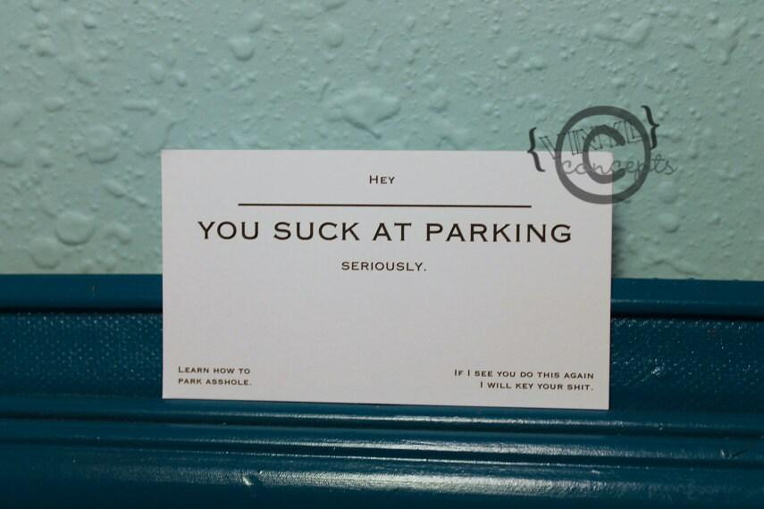 vulgar  etsy, Birthday card