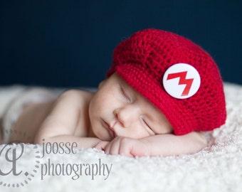 Baby Mario Style Cap