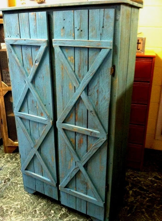 reclaimed solid wood pie safe kitchen pantry by griffinfurniture. Black Bedroom Furniture Sets. Home Design Ideas