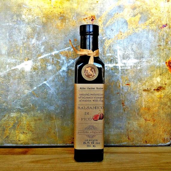 Fig Balsamic Vinegar - Glaze