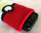 SALE Pokeball Cell Phone Cozy Copy