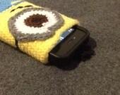 SALE Despicable Me Minion Cell Phone Cozy