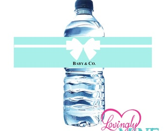 Baby Shower Water Bottle Labels - Instant Download Printables