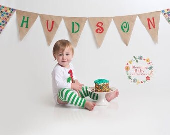 The Very Hungry Caterpillar Banner-name banner to coordinate with hungry caterpillar theme