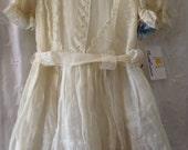 Gorgeous Vintage 1930's Little Girl's Tea Dress!