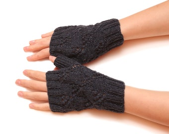 Women fingerless gloves - gloves, mittens, glove, knitted fingerless, mittens for women, fingerless knit gloves, warm women gloves