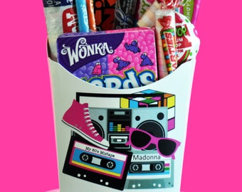 80's Party Favors, 80's Theme Party Favors - GLAMOROUS SWEET EVENTS