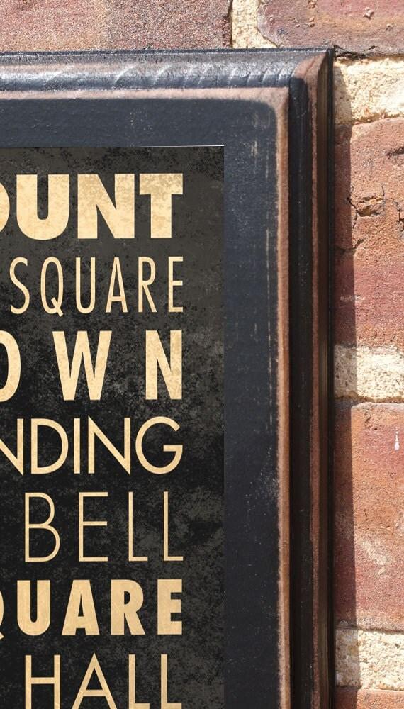 Philadelphia Pa Points Of Interest Destinations Wall Art