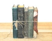 Shabby Chic School Book Collection Home Wedding Office Decor
