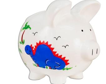 Dinosaur piggy bank etsy - Dinosaur piggy banks ...