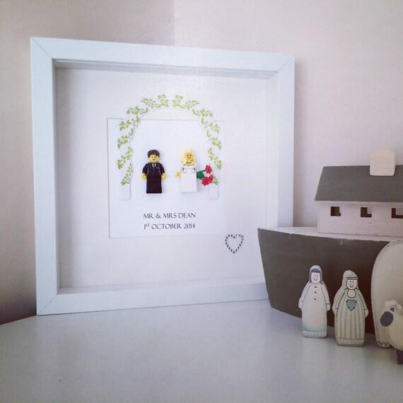 Etsy Wedding Gift For Groom : ... Groom Wedding Gift Personalised Frame Gift Present Mr and Mrs Gift