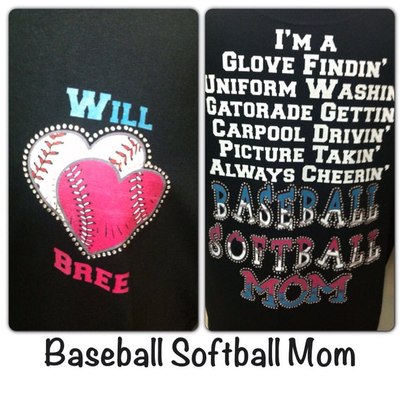 Baseball Softball mom unisex glove findin Gatorade gettin